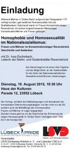 LSVD Einladung Homophobie Nationalsozialismus, 18.8.2015