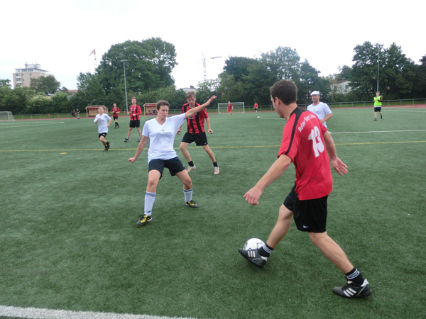 Bild: Fußball-Fan-Turnier gegen Homophobie, 2012, CSD Lübeck